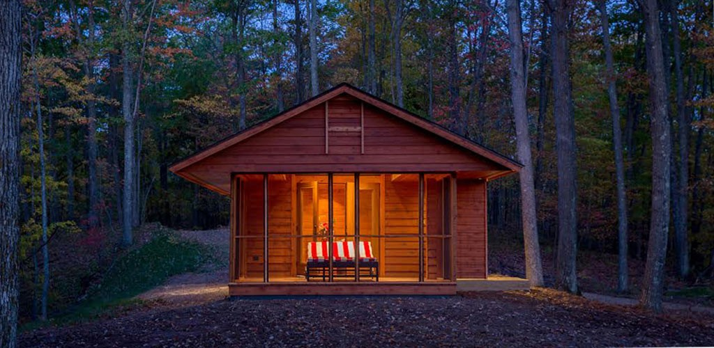 modern contemporary cottage house in forest (2)