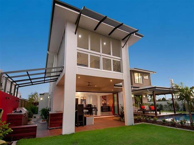 modern contemporary house with garden (15)
