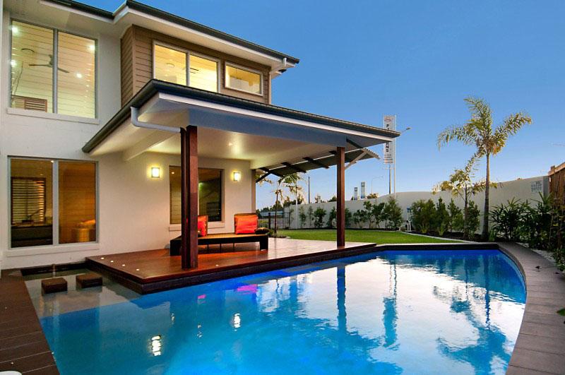 modern contemporary house with garden (16)