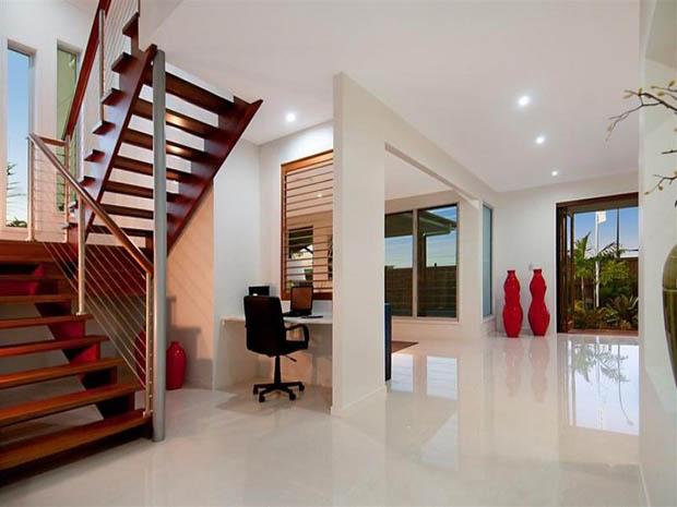 modern contemporary house with garden (4)