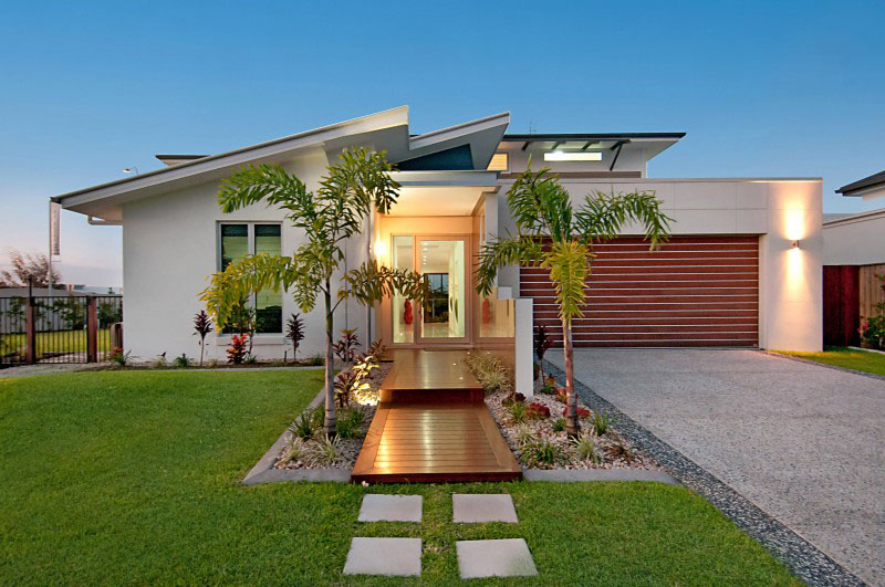 modern contemporary house with garden (6)