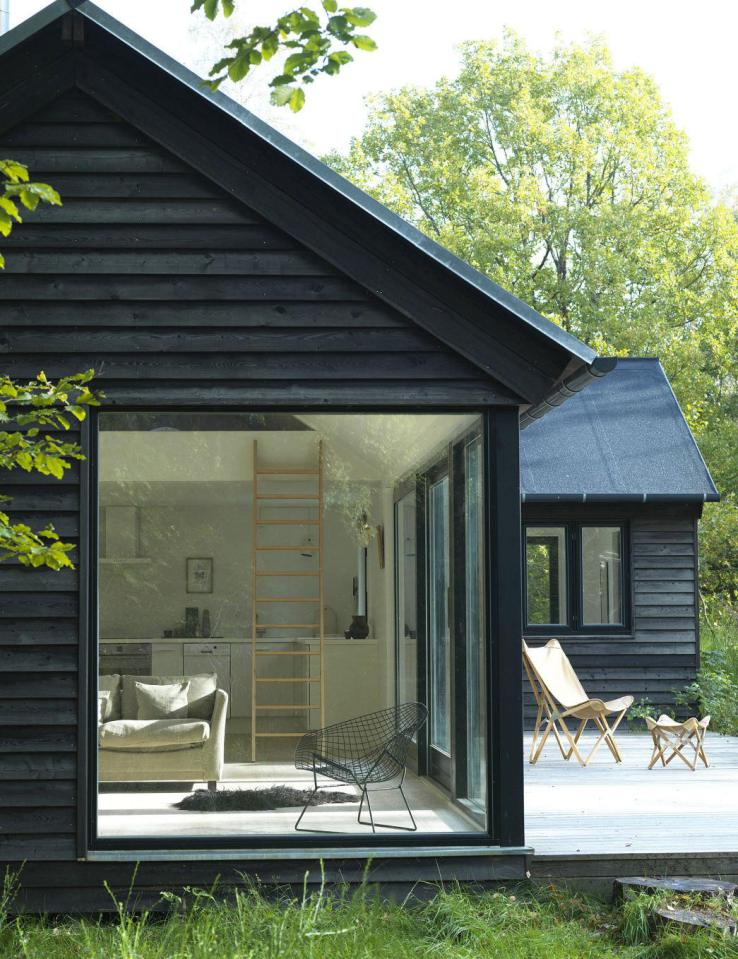 modern contemporary loft cottage house in denmark (1)