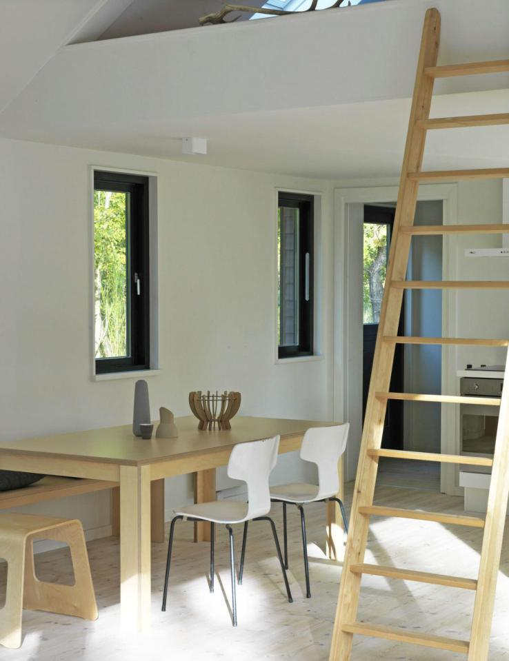 modern contemporary loft cottage house in denmark (3)
