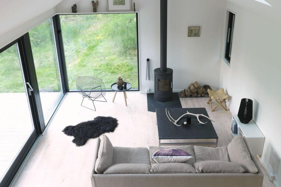 modern contemporary loft cottage house in denmark (7)