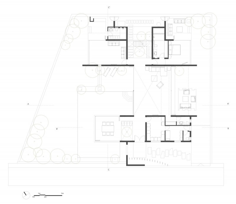modern contemporary moonsoon house in india (20)
