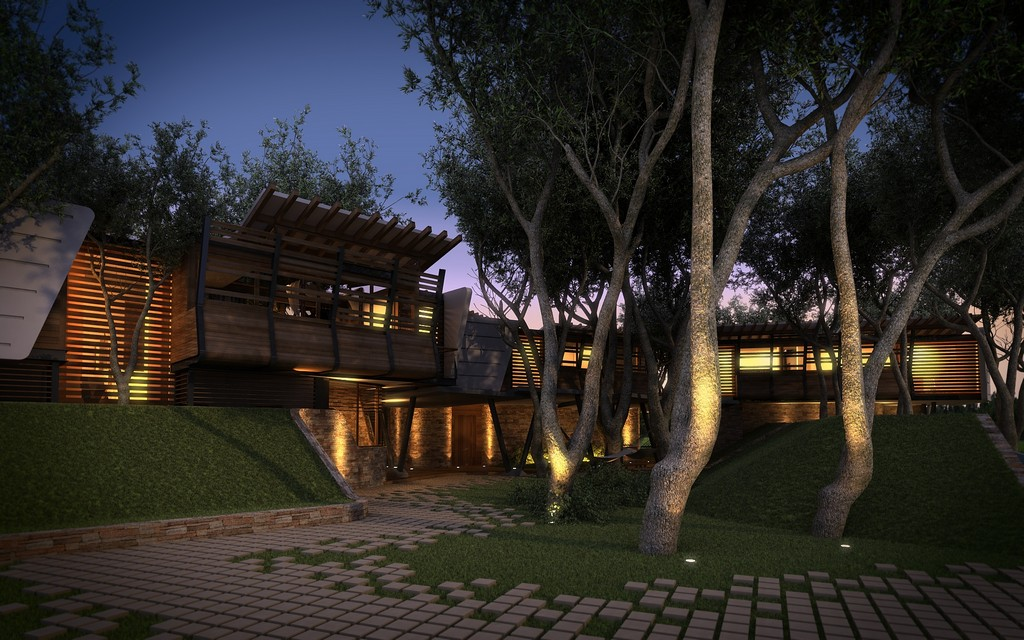modern contemporary tropical house in mexico (1)
