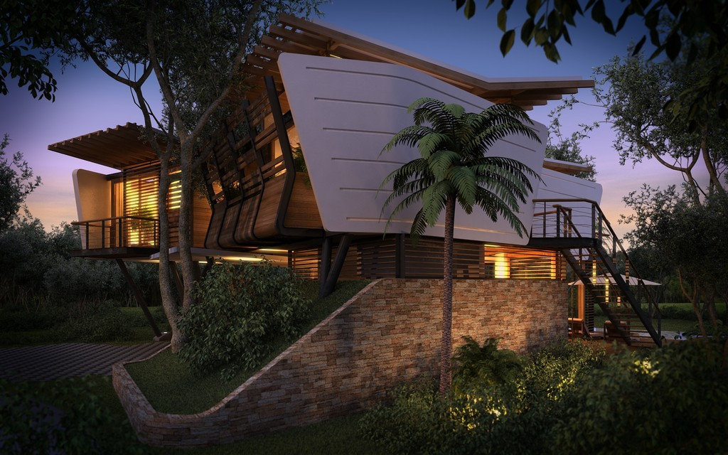 modern contemporary tropical house in mexico (12)