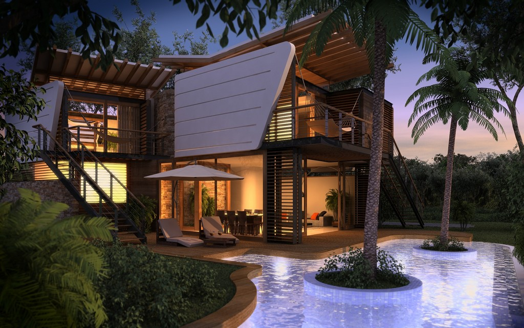 modern contemporary tropical house in mexico (13)