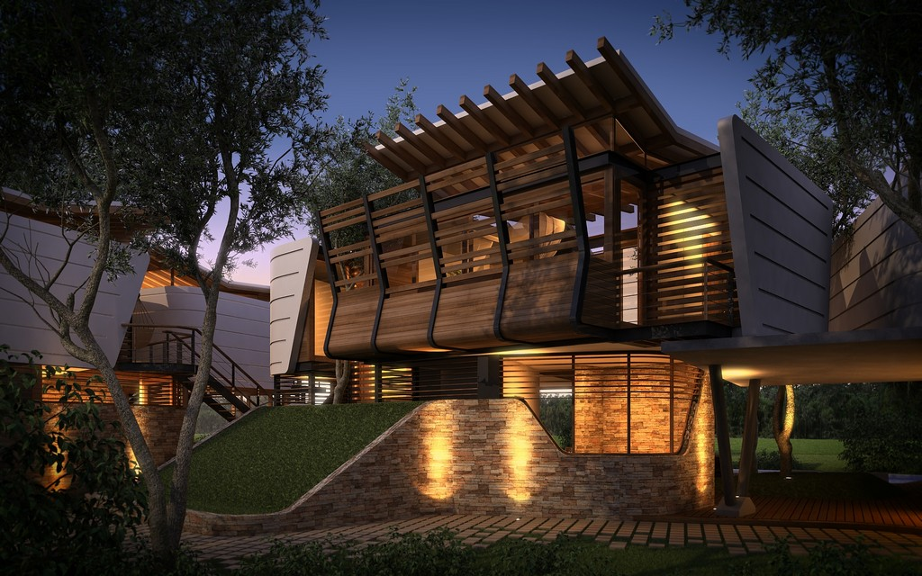 modern contemporary tropical house in mexico (2)