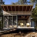 แบบบ้านขนาดเล็กทรงกล่อง ตกแต่งให้ดูโมเดิร์นทันสมัย ใส่ใจธรรมชาติสิ่งแวดล้อม