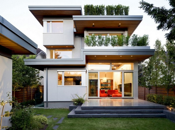 modern house with nature surrounding in city (1)