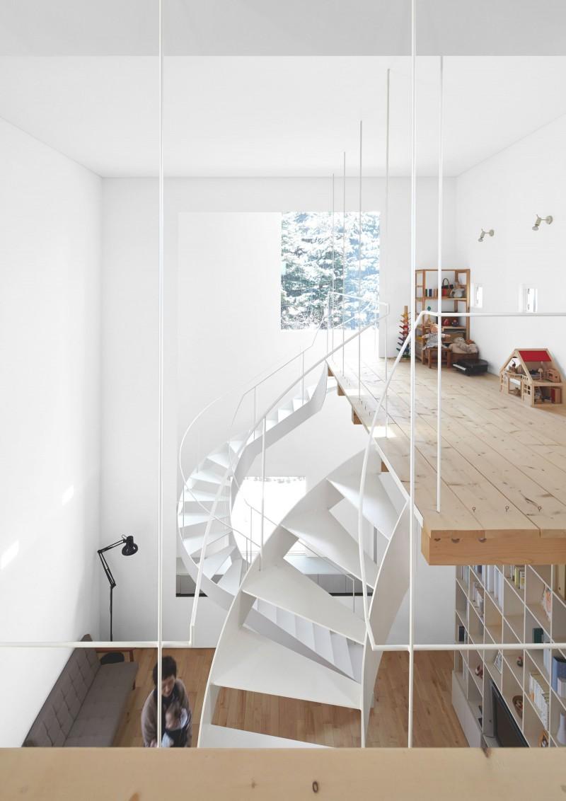 modern loft house in japan (10)