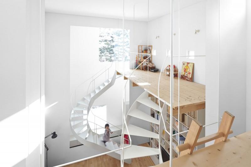 modern loft house in japan (11)
