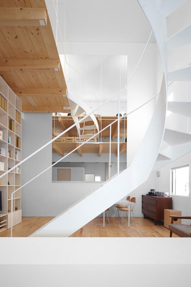 modern loft house in japan (5)