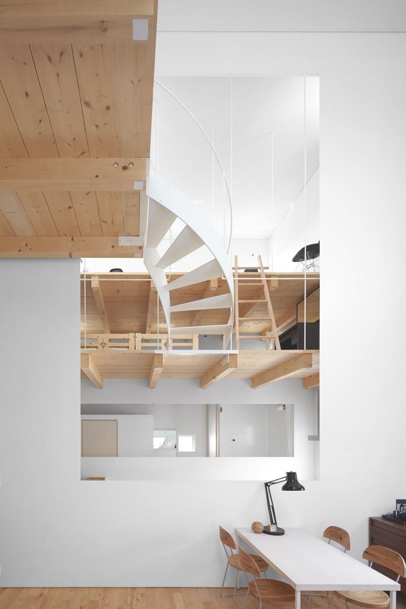 modern loft house in japan (6)