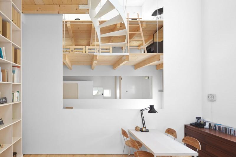 modern loft house in japan (7)