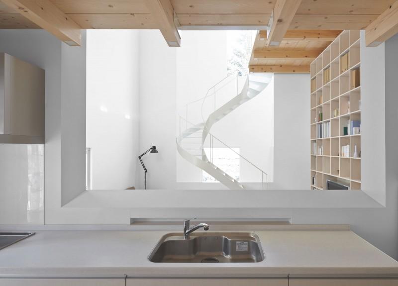 modern loft house in japan (9)