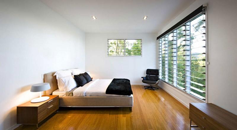 modern natural houw wooden glass steel bright (3)