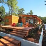 บ้านแบบโมเดิร์น ออกแบบด้วยแนวคิดความทันสมัย กับการพักผ่อนท่ามกลางธรรมชาติ