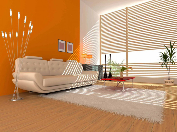 orange decoration in your house (10)