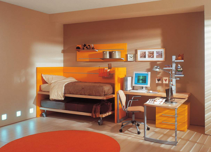 orange decoration in your house (14)