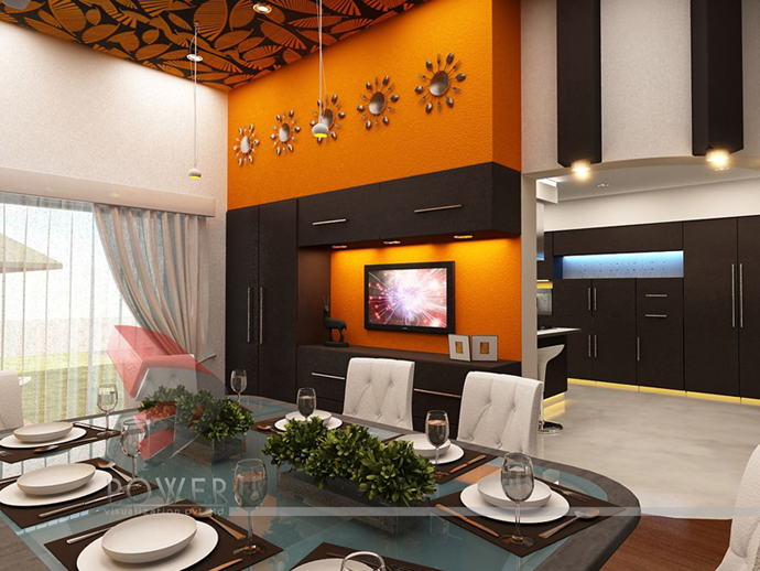 orange decoration in your house (17)