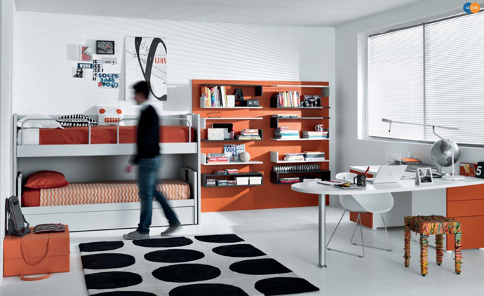 orange decoration in your house (4)