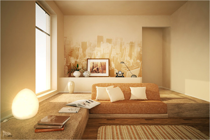 orange decoration in your house (6)
