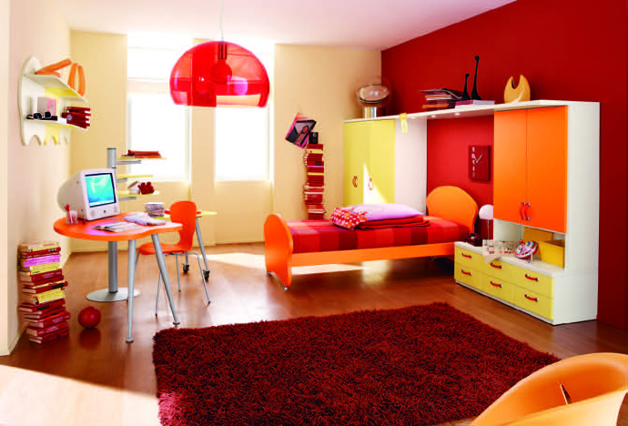 orange decoration in your house (9)