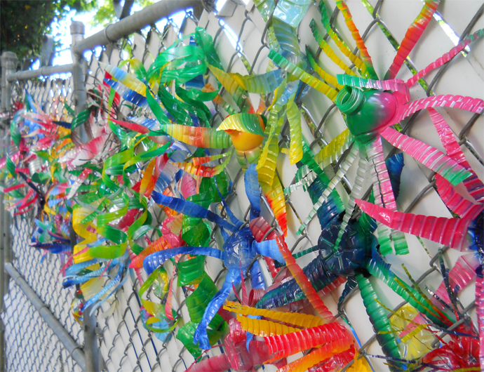 plastic bottle recycle decorating (1)