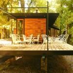 แบบบ้านชั้นเดียวตกแต่งทันสมัย สร้างเพื่อการพักผ่อนสบายๆ ในบรรยากาศธรรมชาติ