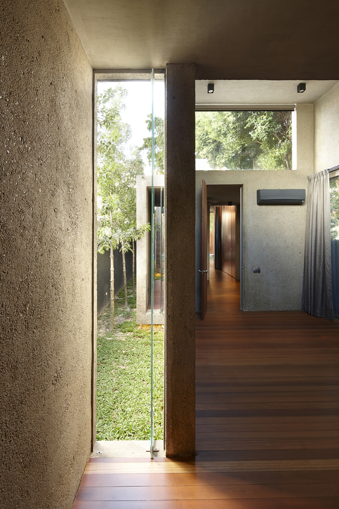 renovate old townhouse to modern contemporary wooden house (3)