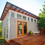 บ้านทรงกล่องขนาดเล็ก ออกแบบตกแต่งดูน่ารัก สามารถเอาไปใช้งานได้หลากหลาย