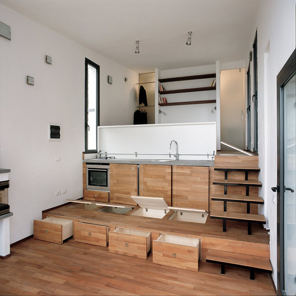 small box classic contemporary loft minimal house in italy (13)