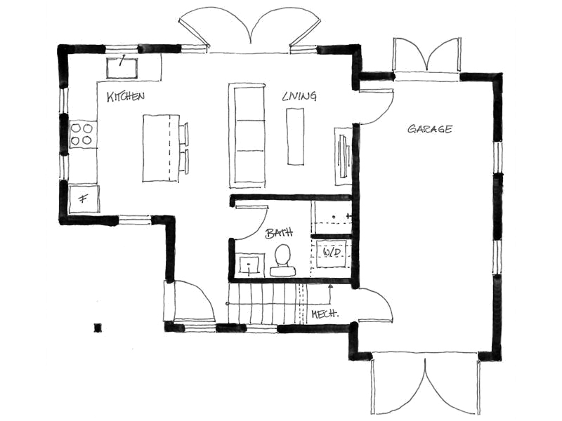 small cottage 75 sq mt house (2)