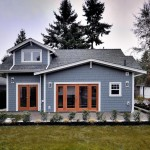แบบบ้านชั้นครึ่งสไตล์คอทเทจ ออกแบบสีสันเรียบง่าย ภายในตกแต่งเป็นสัดส่วน