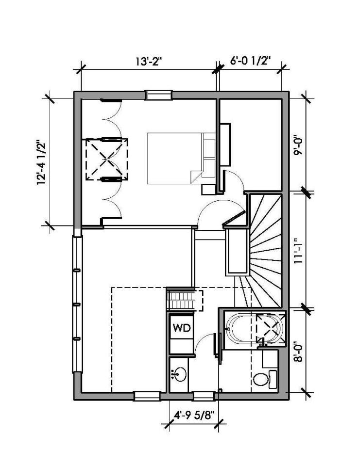 studio cottage house loft wooden (27)