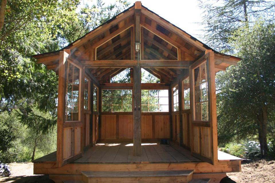 tiny wood cabin house  (5)