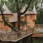 บ้านต้นไม้แบบคลาสสิค ออกแบบด้วยศิลปะยุคโบราณ บนความสวยงามที่มีเอกลักษณ์