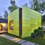 บ้านทรงกล่องสี่เหลี่ยม รองรับชีวิตคนรุ่นใหม่ ขนาดพื้นที่ 46 ตร.ม. รูปแบบทันสมัย