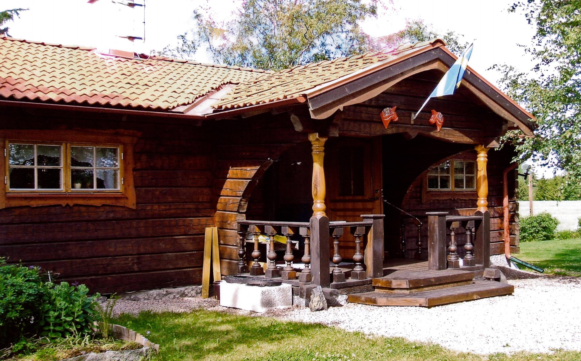 61 sq mt wooden house cottage country from sweden (1)