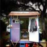 บ้านจิ๋วขนาดเล็กพื้นที่เพียง 8 ตร.ม. แต่จัดพื้นที่อย่างลงตัว ให้อยู่อาศัยได้สบายๆ