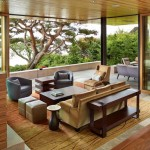 บ้านแนววิลล่า ดึงความงามเป็นธรรมชาติของไม้ ออกแบบให้ดูโปร่งสบายน่าอยู่อาศัย