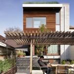 บ้านทาวน์โฮมใจกลางเมือง ออกแบบอย่างทันสมัย บนแนวคิดคงความเป็นธรรมชาติ