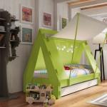รวมไอเดียเตียงนอนน่ารักสำหรับเด็ก รูปแบบมีเอกลักษณ์ เพื่อชีวิตในจินตนาการ