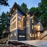 บ้านแบบร่วมสมัย แสดงถึงการออกแบบอย่างเป็นเอกลักษณ์ และชีวิตอย่างยั่งยืน