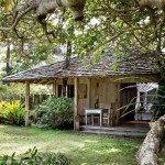 บ้านกระท่อมหลังเล็กแบบคลาสสิค ตกแต่งได้อย่างเรียบง่าย ดูสวยในบรรยากาศธรรมชาติ