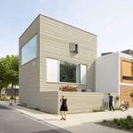 แบบบ้านทาวน์เฮาส์ 3 ชั้นใจกลางเมือง ตัวอย่างการใช้พื้นที่น้อยๆให้เกิดประโยชน์ได้สูงสุด