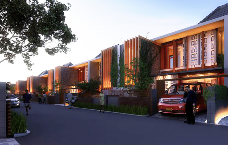 concept modern townhome in indonesia (2)