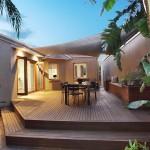 บ้านชั้นเดียวร่วมสมัย ขนาด 3 ห้องนอน เน้นการใช้พื้นที่อย่างคุ้มค่า เพื่อครอบครัวขนาดเล็ก